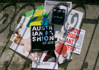 Austrian Fashion Guide und andere Branchen-Guides in Paris. Foto: Austrian Fashion Net