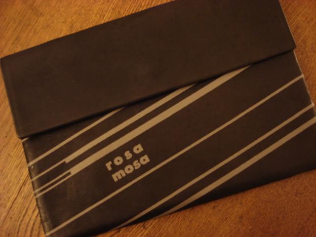 Tasche: rosa mosa (Vintage)