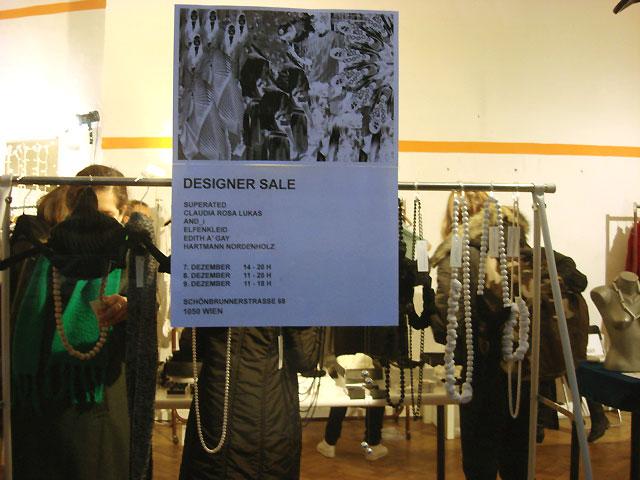 Designer Sale in der Schönbrunnerstraße