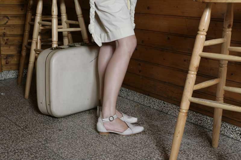 rosa mosa: Modell Sasha Sale, SS08, Foto: Martin Stoebich, Styling: Yohei Yoshida