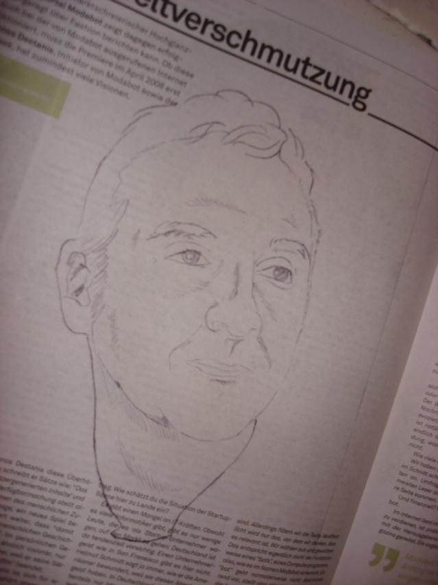 Panos Destanis in Debug 0102/08, Zeichnung: Jan Joswig