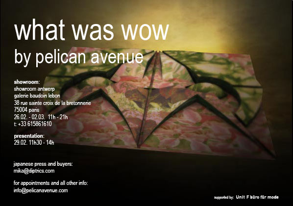 what was wow by pelican avenue