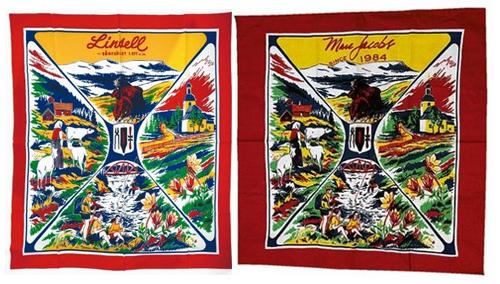 Altes Tuch aus Schweden und neues von Marc Jacobs