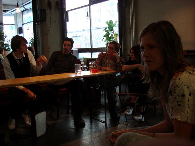 FashionblogerInnen-Treffen im werkzeugH am 9.5.08