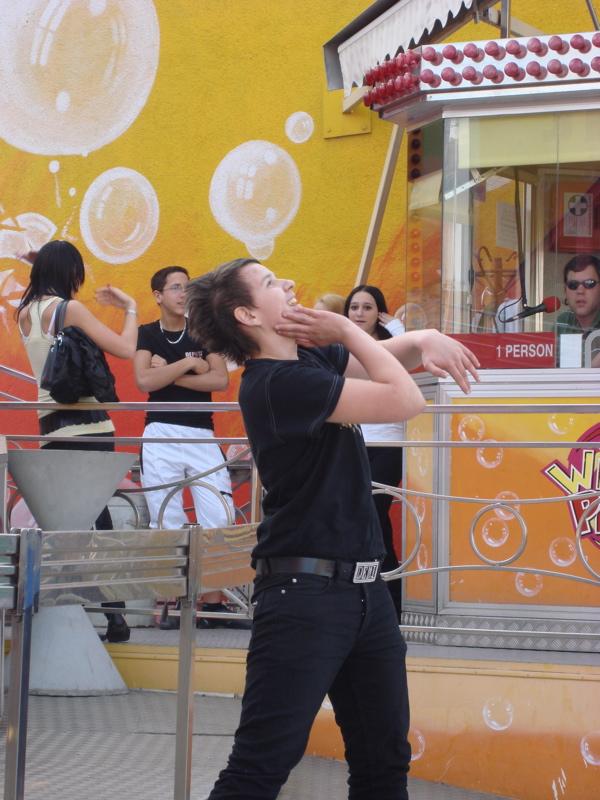 Krocha-Contest beim Tagada