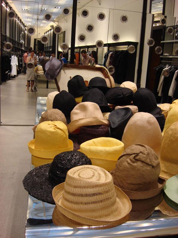 Hüte von Reinhard Plank bei Chegini