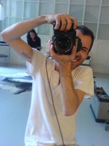 Christoph Pirnbacher bei der Arbeit, Foto: Christian Mayrhofer