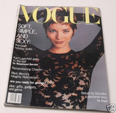 US Vogue, Dezember 1992