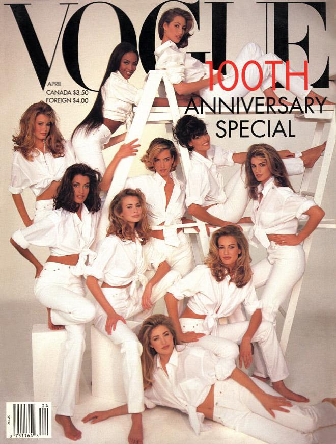 US Vogue, Jubiläumsausgabe zum 100. Geburtstag 1992