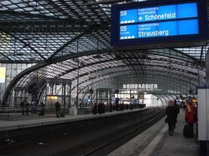 Der neue Hauptbahnhof, Berlin