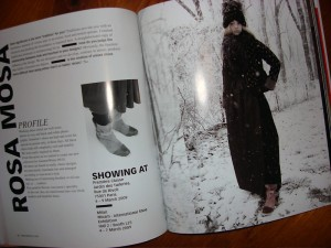 Austrian Fashion Guide Autumn/Winter 2009/10, Rosa Mosa