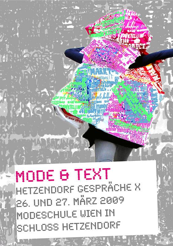 Mode & Text, Hetzendorf Gespräche X
