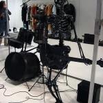 """Natalia Brilli, Installation """"Rockband"""", Park Wien"""