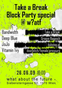 Block Party bei W?atf, Siebensterngasse