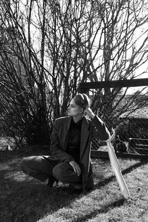 Anna Aichinger, Herbst/Winter 209/10, Foto: Irina Gavrich