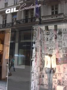 Gil Couture, Wien, Kohlmarkt