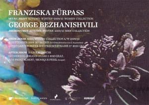 Fürpass & Bezhanishvili im Grazer Kunstgarten, 11. 9. 09