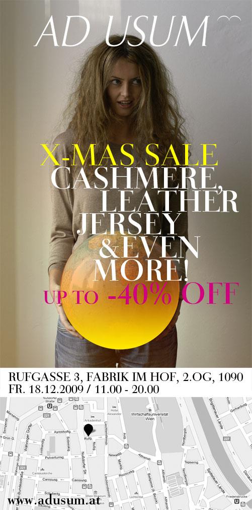 Ad usum, X-mas Sale 09