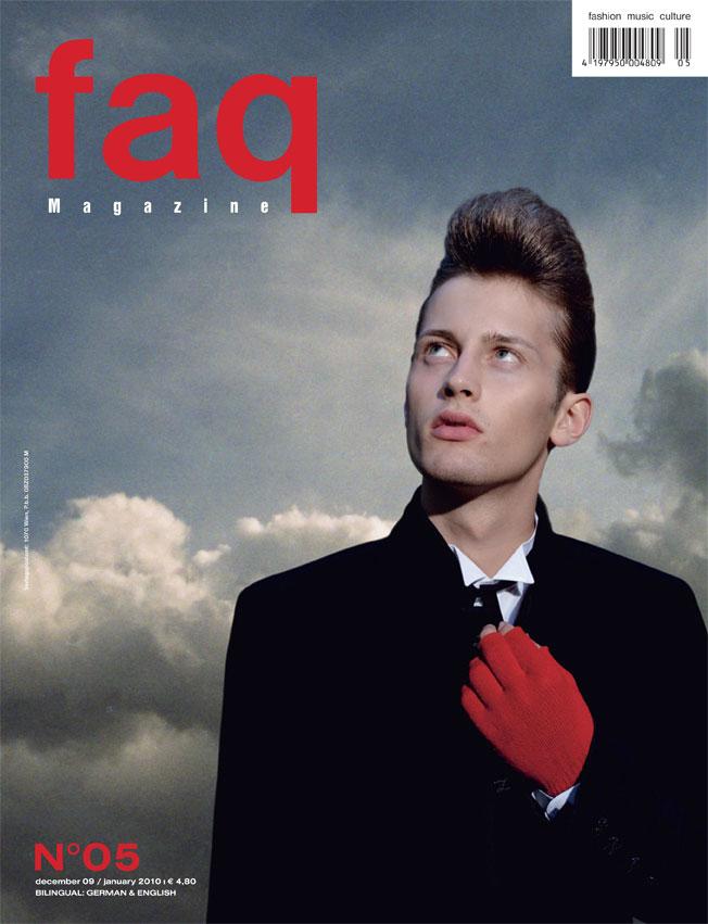 Cover, faq Magazine, Dezember09/Jänner10