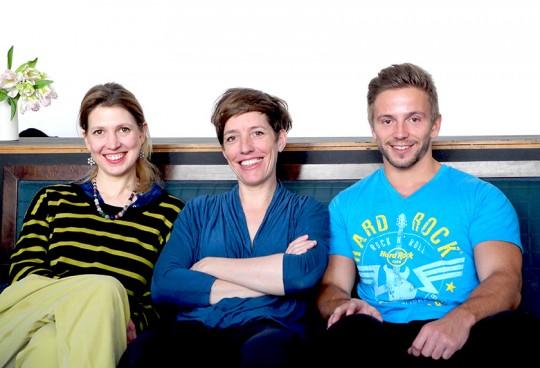 Das LIEBLINGSBRAND Gründungsteam: Marlies Winkelmeier, Cloed Baumgartner, Bernd Artmüller