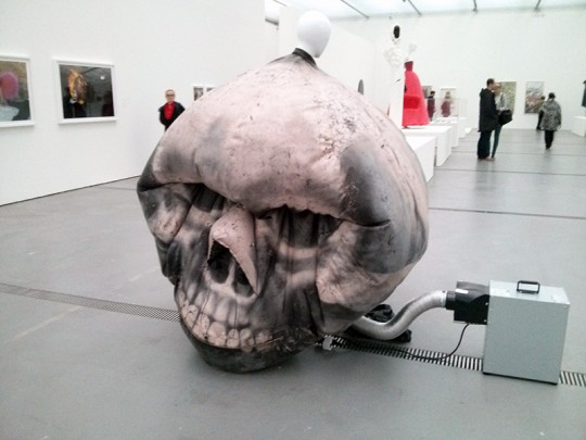 Manon Kündig: The Skull 2011
