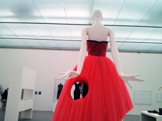 Viktor & Rolf: Coral Dress, Cutting Edge Couture Collection 2010